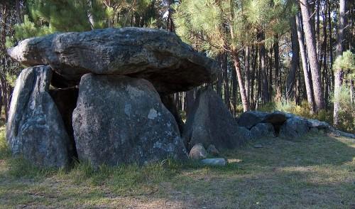 The Dolmen of Cerqueira, in Sever de Vouga