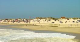 Areão Beach, in Vagos