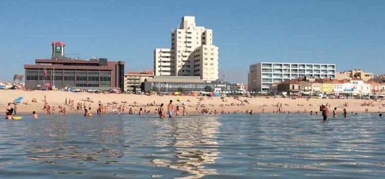Espinho Beach, in Espinho